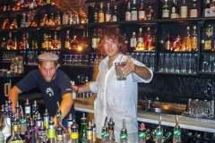 """Matze und Jens in der ehemaligen """"Cocktailbar"""" (jetzt blauer Engel)"""